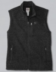 Mens Heathered Sweater Vest