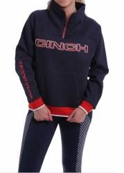 Ladies Cinch Navy Pullover