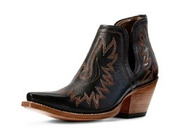 Ladies Black Dixon Bootie
