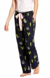Ladies Cactus Flannel Pajama Pants