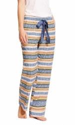 Ladies Serape Print Pajama Pants