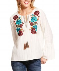 Ladies Snow White Reflections Tunic