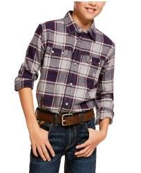 Boys Falkin Plaid Flannel Shirt