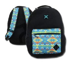 Hooey Black/Aztec Backpack