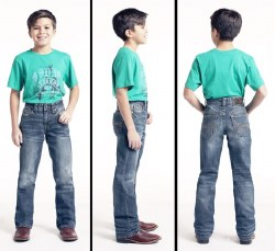 Boys Regular Fit BB Gun Jeans