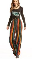 Junior Ladies Pleated Pants