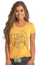 Ladies Dale Brisby Logo Tee