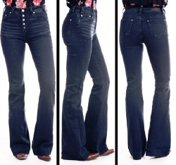 Junior Ladies Button Fly Jean