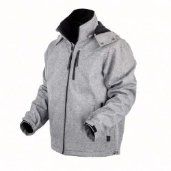 Mens Light Grey Barrier Jacket