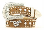 Girls Running Horse Sparkle Belt
