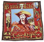 Limited Edition Silk Scarf Buffalo Bill