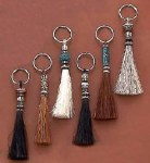 Key Rings with Assorted Selection of Western Style Fobs