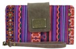 Cara Multicolored Moroccan Print Wallet with Wristlet