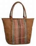 Multi-colored Lace Handbag