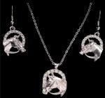 Horsehead Jewellery Set