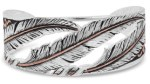 Wind Dancer Feather Cuff Bracelet