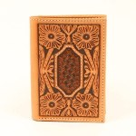 Mns Trifold Emb Wallet