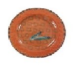 "Feather 11"" Dinner Plate"