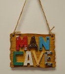 Man Cave Sign Ornament
