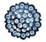 Swarovski Crystal Clear/Black
