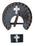 Brown with GS Cross Conchos - also Buckle Set available