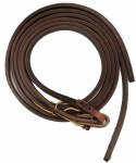 "Raber 5/8"" Double & Stitched Oiled Split Reins"