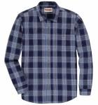 Mens Blue Ridge Blue Flannel Shirt