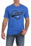 Mens Royal Blue Cinch Tee