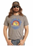 Mens Sunset Bull Rider Tee