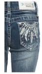Easy Fit Feather Boot Cut Jean