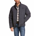Mens Slate Heather Crius Insulated Jacket