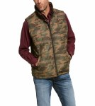 Mens Camo Crius Insulated Vest