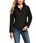 Ladies REAL Black Aztec Jacket