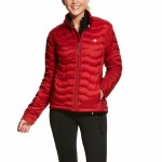 Ladies Ideal 3.0 Red Down Jacket