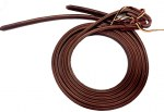 "5/8"" Double & Stitched Latigo Split Reins"
