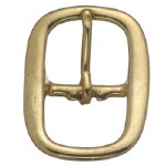Solid Bronze Swedge Buckle 3/4""