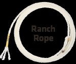 Left Twist Ranch Rope