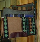 5 Arm Blanket/Pad Rack
