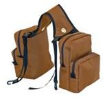 Small 4-Pocket Saddle Bag