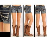 Rock & Roll Cowgirl Jr Ladies Shorts