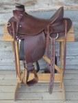 "TSC 5501 Deluxe Wade Saddle 16.5"" Seat"