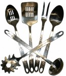 6 Piece Serving Set Barbwire