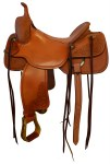 """Frontier 20X Cutting Saddle 16"""" Seat"""
