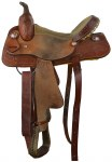 Youth Barrel Saddle 12""