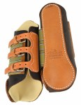 Frontier Leather Buckle Splint Boots
