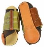 Frontier Leather Velcro Splint Boots