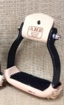 "Black 2"" Aluminum Stirrups"