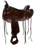 """Circle Y Omaha Flex2 16"""" Trail Saddle"""