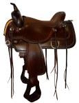 "Circle Y Topeka Flex2 18"" Trail Saddle"