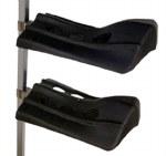 2  Deluxe Arm Wall Mount Saddle Rack
